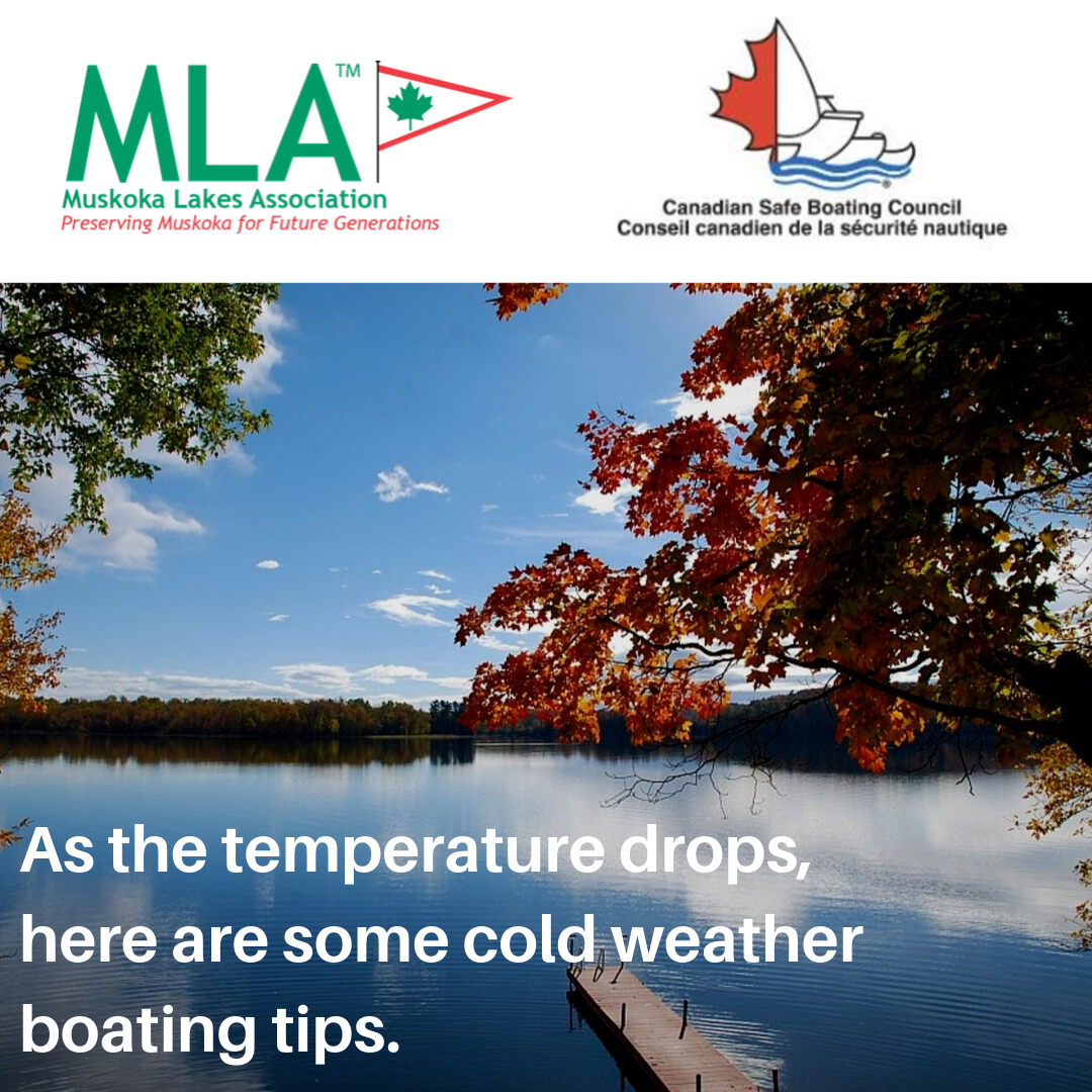As the temperature drops,  here are some cold weather  boating tips.