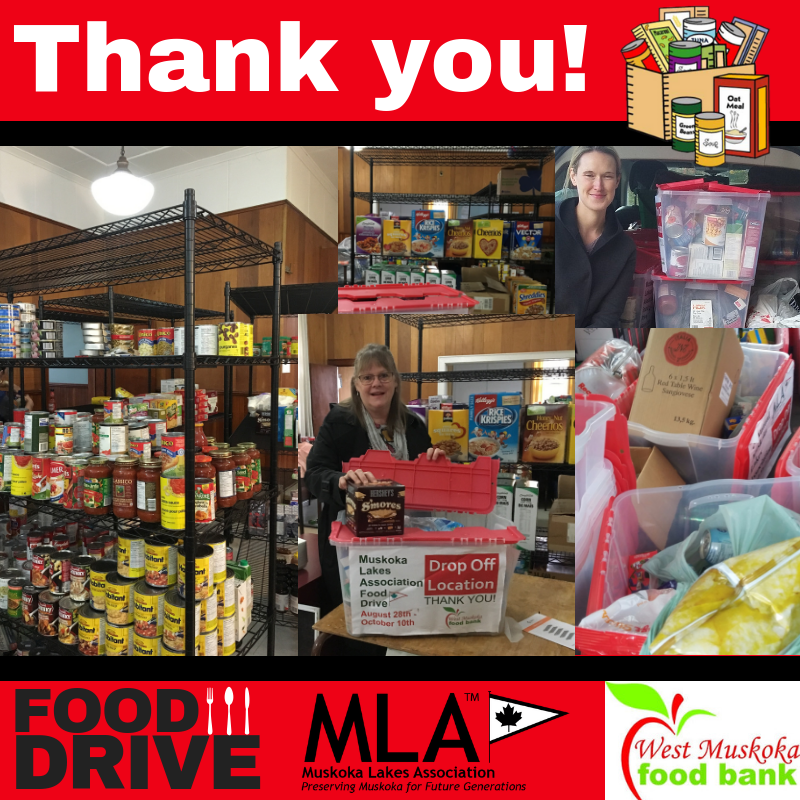 Thank you for another successful food drive!