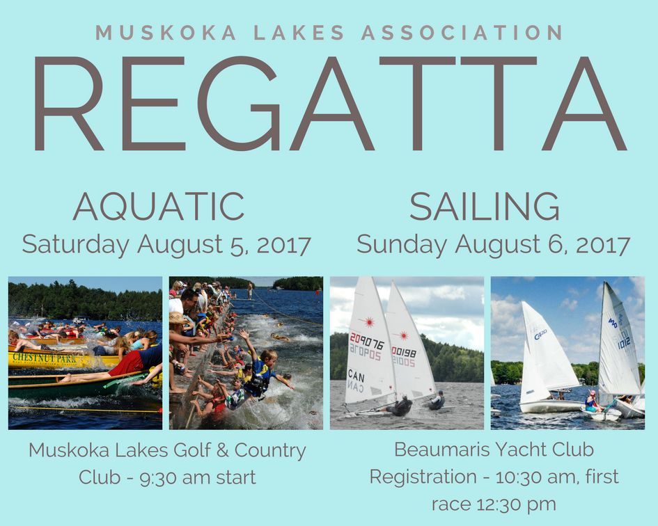 The Regatta is this weekend!